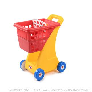 Little Tikes Shopping Cart - Yellow/Red (online $25)