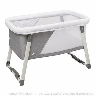 ComfyBumpy Travel Bassinet Rocking & Sturdy Cradle Light Grey (Factory Sealed) COME PREVIEW!!!!! (online $179)