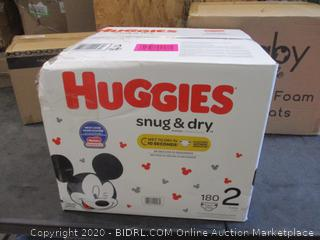 Huggies Diapers Size 2