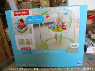 Fisher Price Rainforest Jumperoo (Box Damage)