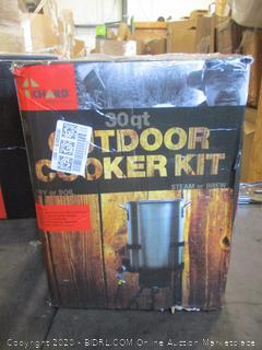 30 Qt. Outdoor Cooker Kit