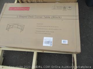 L-Shaped Desk Corner Table (Please Preview)