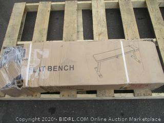 Flat Bench (Box Damage)