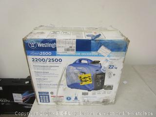Westinghouse iGen2500 Inverter Generator (Please Preview)