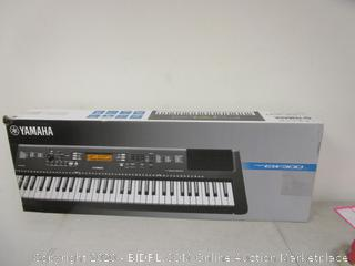 Yamaha EW300 Keyboard w/ Portable Stand (Please Preview)