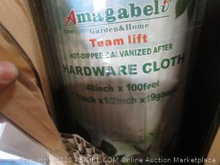 Hardware Cloth (Box Damage)