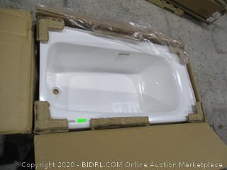 Americast 5 FT recessed Bath
