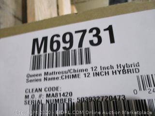 """Queen Mattress  12"""" Hybrid"""
