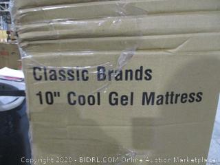 """Classic Brand 10"""" Cool gel Mattress Queen"""