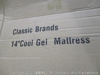 "Classic Brand 14"" Cool Gel Mattress King"