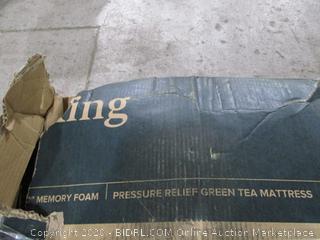 Zinus Memory Foam Pressure relief Green Tea Mattress  king