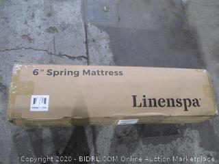 "Linenspa 6"" spring Mattress Twinn"