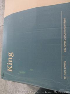 """Zinus 14"""" icoil spring mattress  King"""