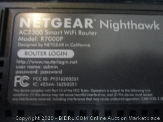 Netgear Nighthawk Smart Wifi Router