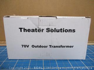 Theater Solution 70 v Outdoor Transformer