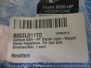 HP Digital Light weight Stereo headphone