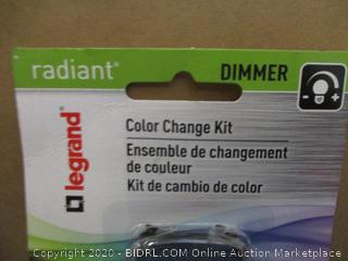 Radiant Dimmer Color change kit
