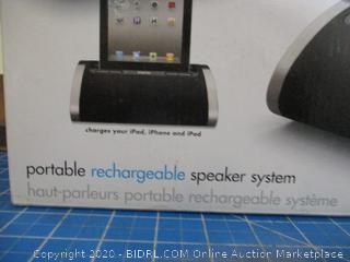 iHome Portable Rechargeable speaker System