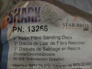 "3"" Resin Fibre sanding discs"