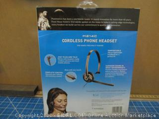 Plantronic cordless Phone Headset