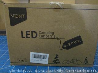 Vont LED Camping Lanterns 4 pack