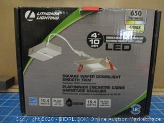 Lithonia Lighting Square Wafer downlight Smooth Trim