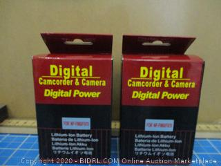 Digital Camcorder & Camera Digital Power   Batteries