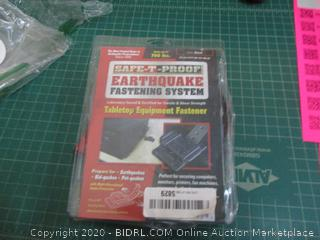 Safe Proof Earthquake fastening system