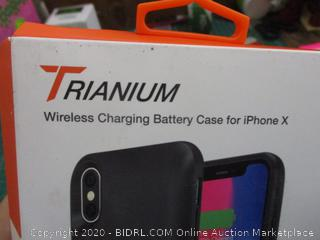 Trianium Wireless Charging Battery Case for iPhone X