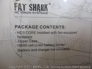 HD3 Core Modular 3D FPV Headset