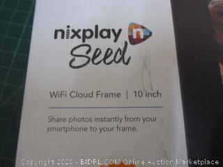 Nixplay Seed WiFi Cloud Frame 10 inch