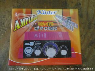 Kinter Amplifier HiFi Stereo