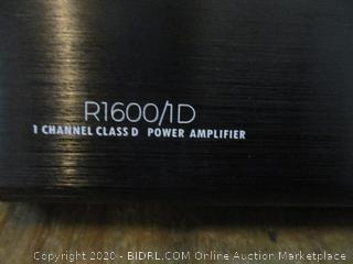 Ignite 1 channel class D Power Amplifier