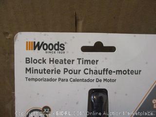 Woods Black Heater Timer
