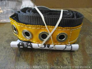 Tongue Buckle Body Belt with single D Ring