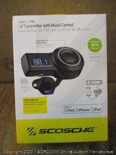 FM Transmitter with Music Control
