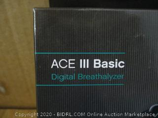ACE III Basic Digital Breathalyzer
