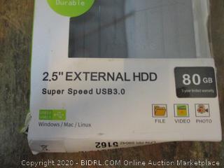 """Maxone External Hard Drive 2.5"""" External HDD Super Speed USB 3.0"""