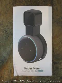 Outlet Mount for All new Echo Dot