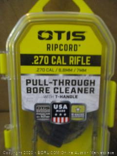 OTIS ripcord .270 Cal Rifle Pull Through Bore Cleaner