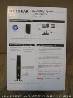 Netgear High Speed Cable Modem