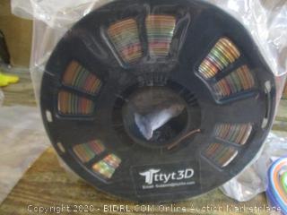 Rainbow Multicolor 3D Printer PLA Filament