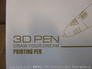 3D Pen Printing Pen