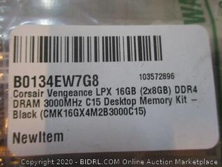Corsair Vengeance LPX Desktop Memory Kit / minor damage