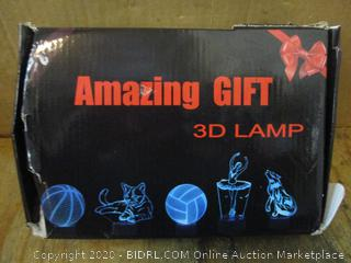 3D Lamp Football See Pictures