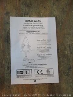 Himalayan Selenite Crystal Lamp