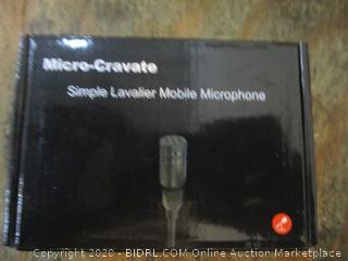 Micro-Cravate Simple Lavalier Mobile Microphone