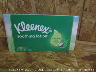 Kleenex Soothing Lotion 110pk Box 3-Ply Tissue