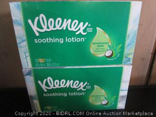 Kleenex Soothing Lotion 3-Ply Tissues