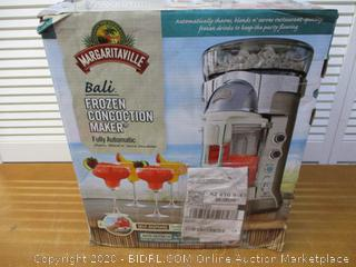 Margaritaville Bali Frozen Concoction Maker with Self-Dispensing Lever and Auto Remix Channel, DM3500 (Retail $300)